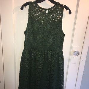 Altar D'State Green Dress